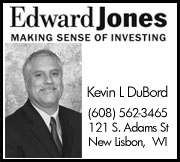 Kevin DuBord at Edward Jones New Lisbon